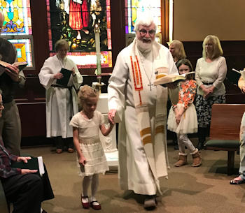 Zion Lutheran Church, Glen Rock, PA, welcomes Jayden Rizzo
