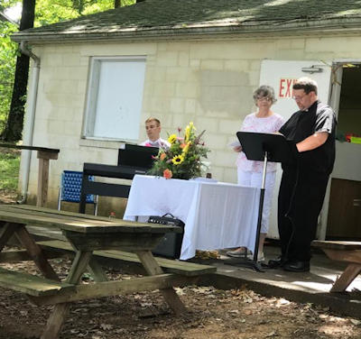 Zion congregational picnic - thanks to all who helped to make the day a success.