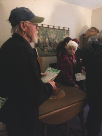 Zion Lutheran Church Christmas Caroling - 2019