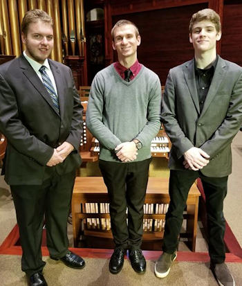 Zion Piano/Organ Recital by Galinaitis, Zieglar, and Hoke