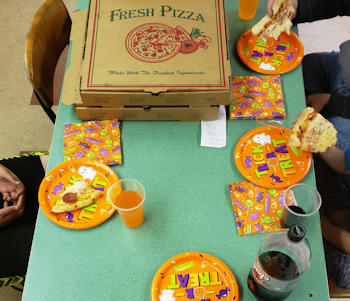 Youth Group Pizza Party - Zion Lutheran Church - Glen Rock, PA