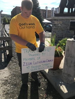 Zion Lutheran Church in Glen Rock, PA - God's Work, Our Hands