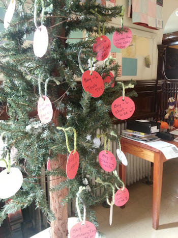 Christmas Giving Tree at Zion Lutheran Church