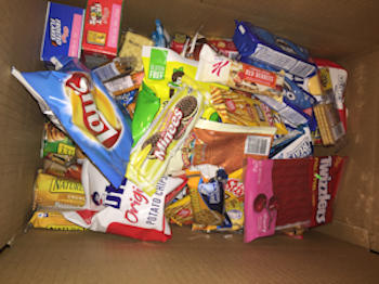 Zion Lutheran Church - Kookies for Kids snack box campaign-2020
